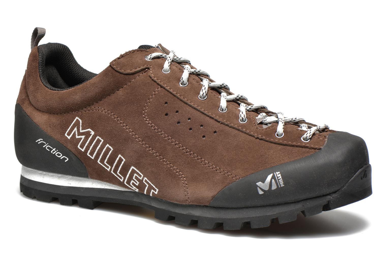 Chaussures de sport Millet Friction Marron vue détail/paire