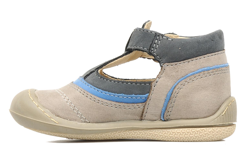 Boots en enkellaarsjes Aster BOREAL Grijs voorkant