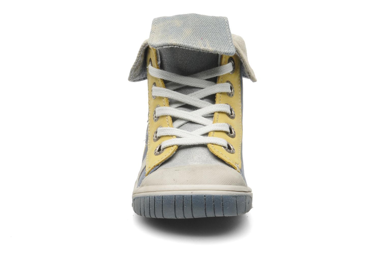 Ankle boots Babybotte Artiste Blue model view