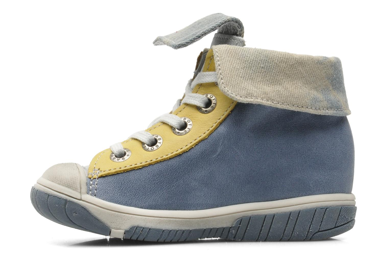 Ankle boots Babybotte Artiste Blue front view