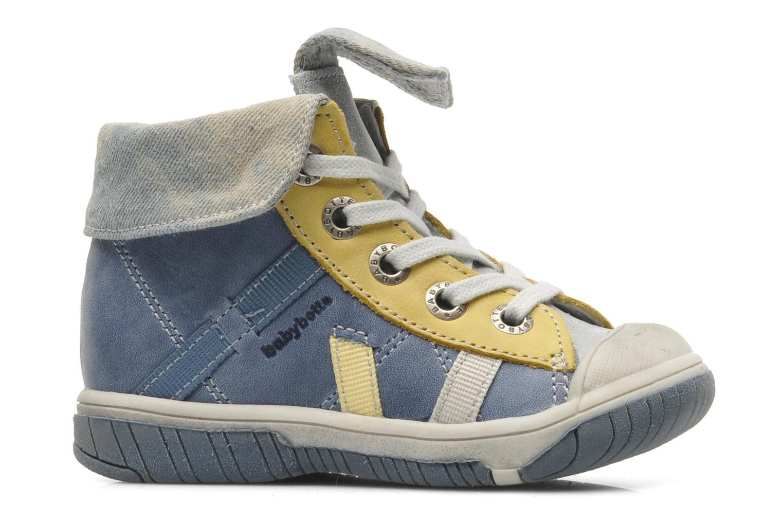 Ankle boots Babybotte Artiste Blue back view