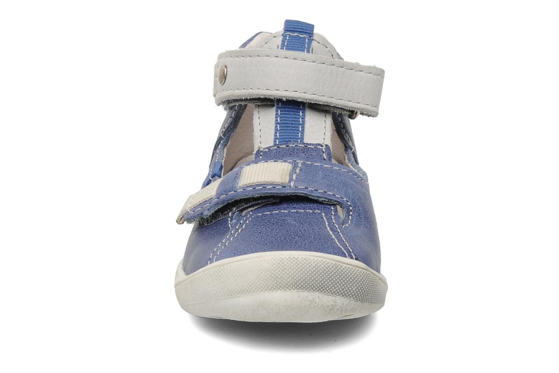 Bottines d'été Babybotte Stylist Bleu vue portées chaussures