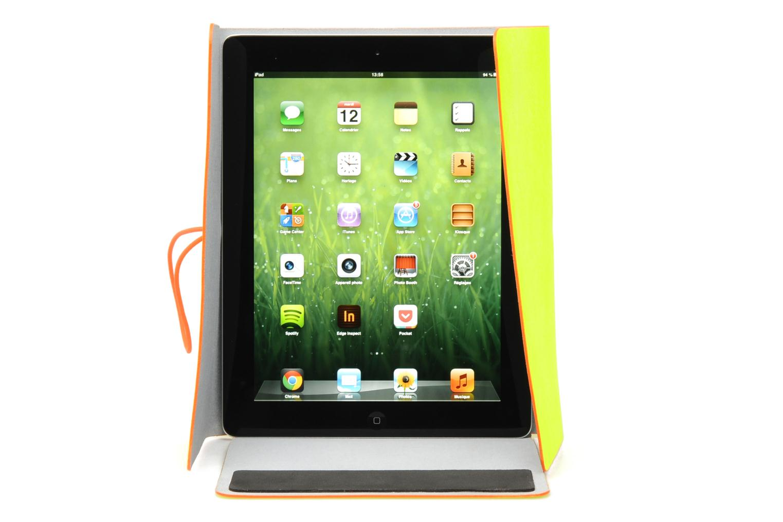 Portemonnaies & Clutches Coverlab I-pad case gelb ansicht von hinten