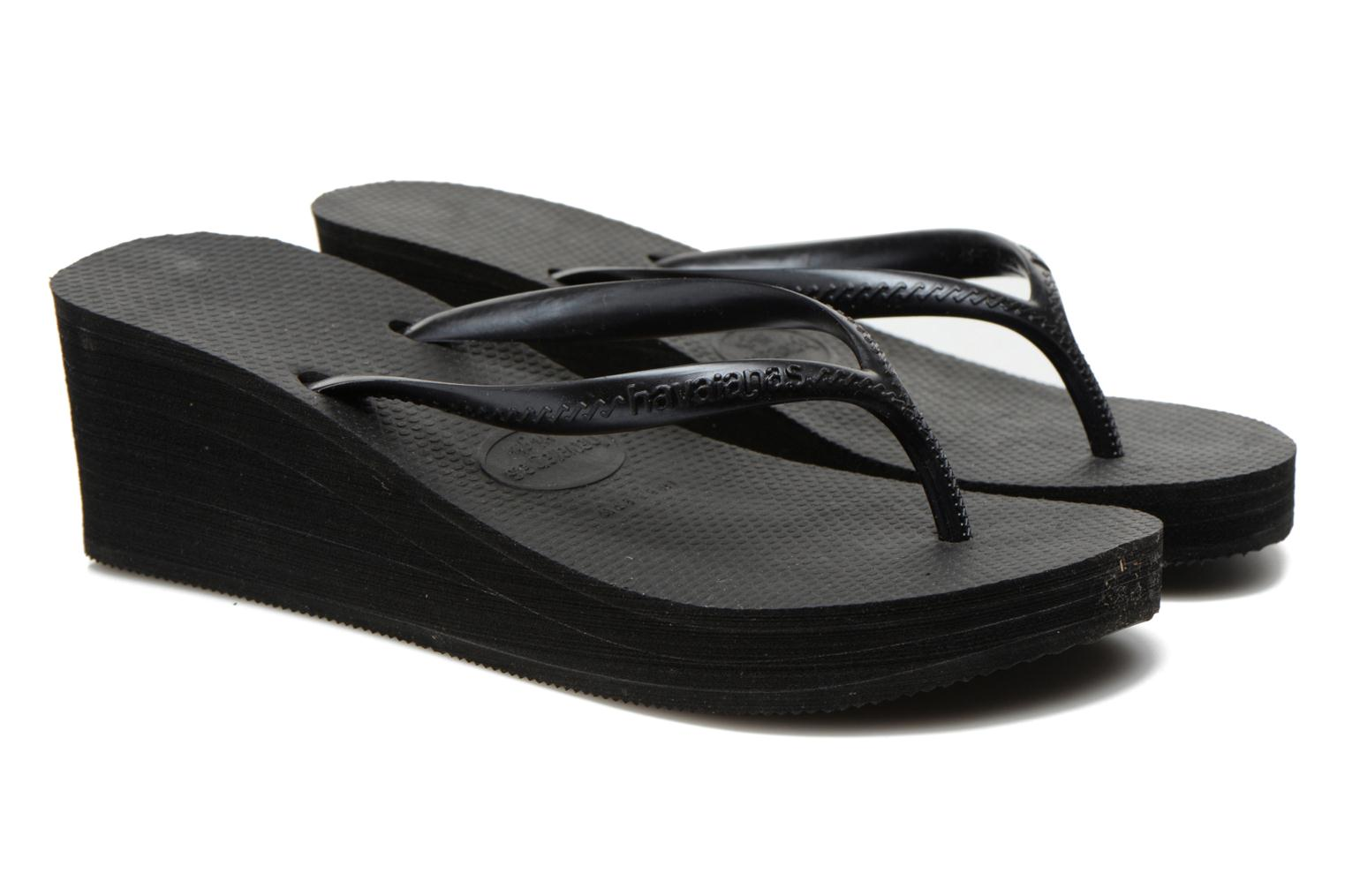 Slippers Havaianas High Fashion Zwart 3/4'