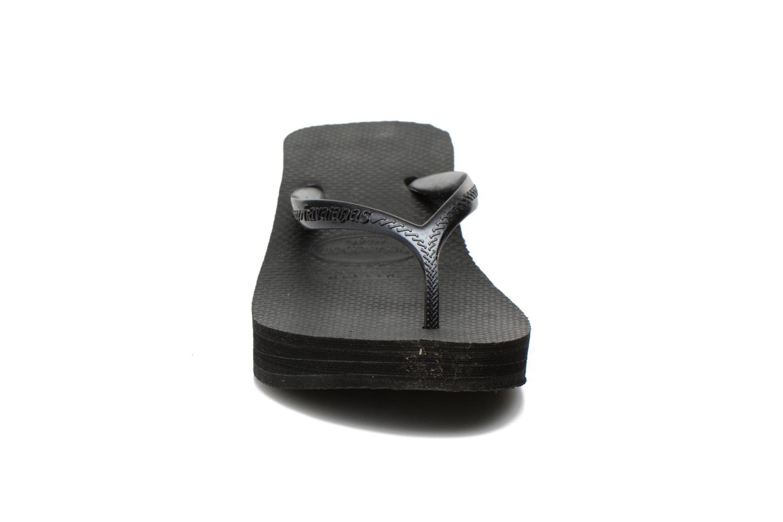 Zehensandalen Havaianas High Fashion schwarz schuhe getragen