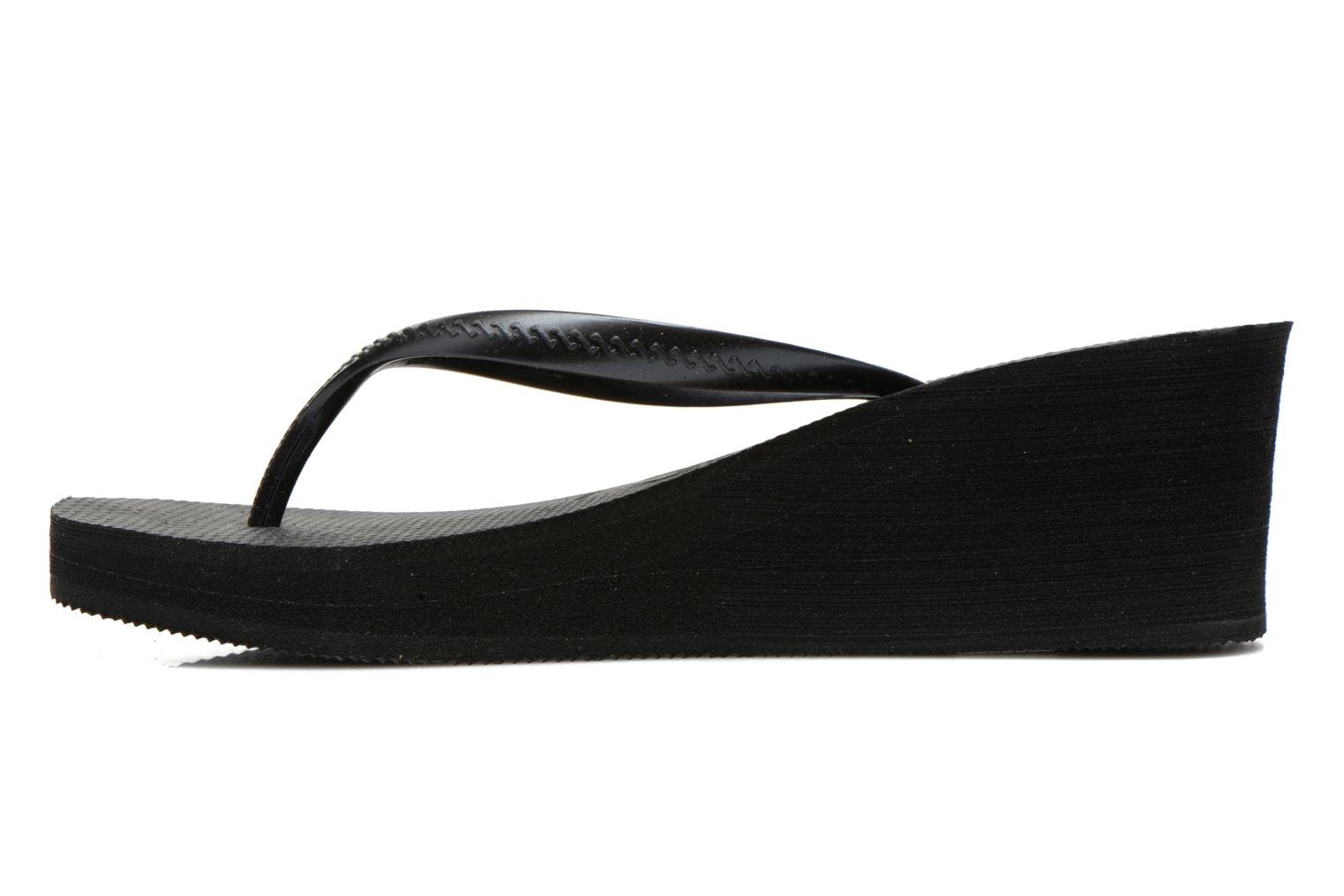 Flip flops Havaianas High Fashion Black front view