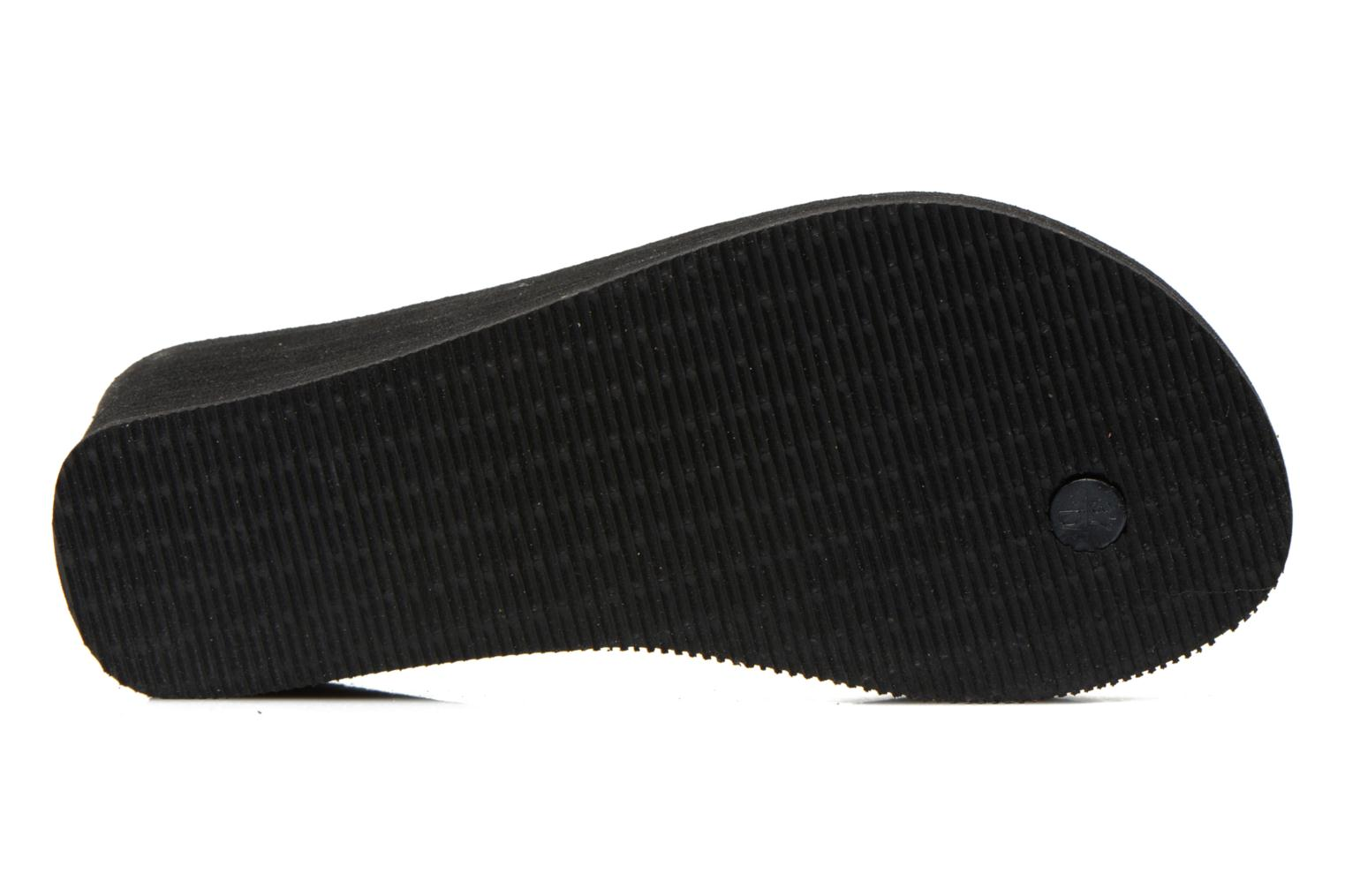 Flip flops Havaianas High Fashion Black view from above
