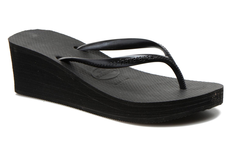 Zehensandalen Havaianas High Fashion schwarz detaillierte ansicht/modell