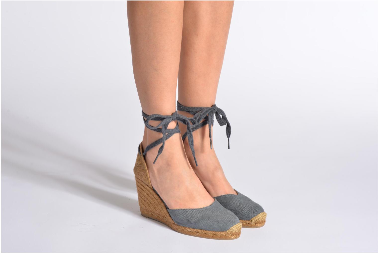 Sandales et nu-pieds Castaner Carina8 Beige vue bas / vue portée sac
