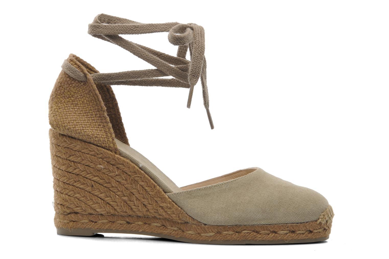 Sandales et nu-pieds Castaner Carina8 Beige vue derrière
