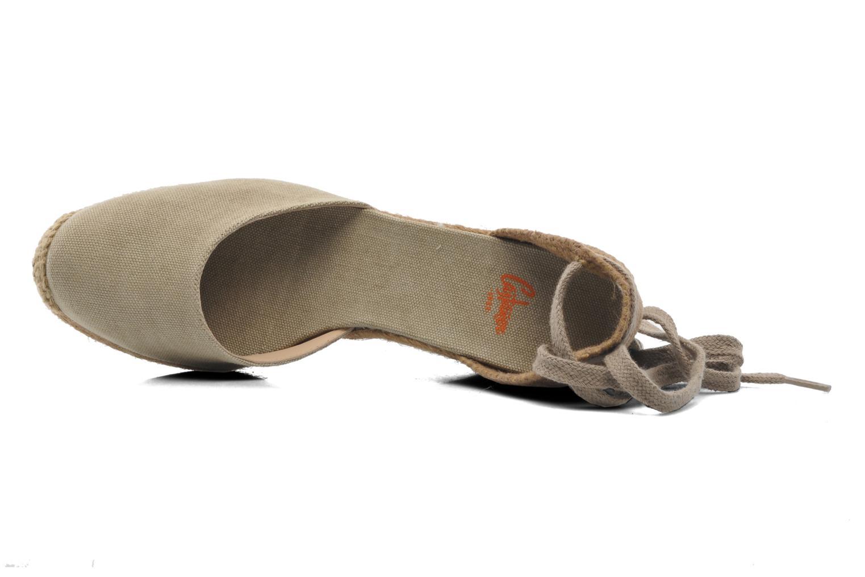 Sandales et nu-pieds Castaner Carina8 Beige vue gauche