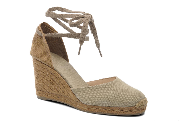 Sandales et nu-pieds Castaner Carina8 Beige vue détail/paire