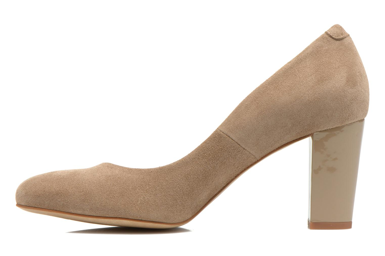 Zapatos de tacón Perlato Paty Beige vista de frente
