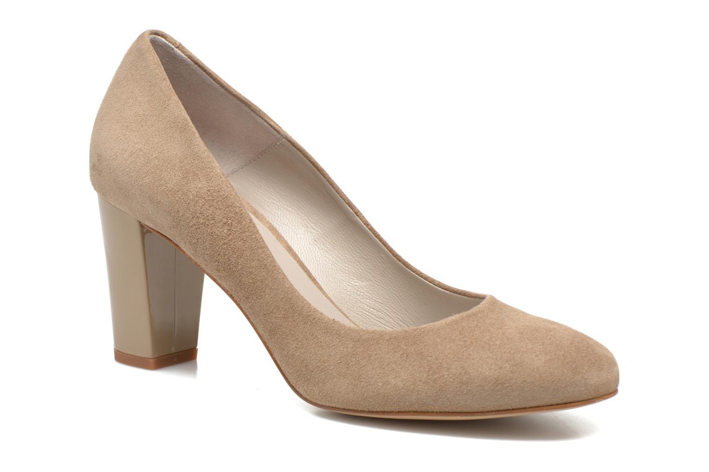 Zapatos de tacón Perlato Paty Beige vista de detalle / par