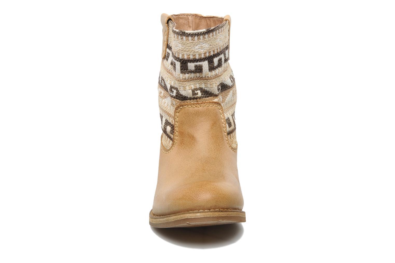 Ankle boots Koah Dalia Beige model view