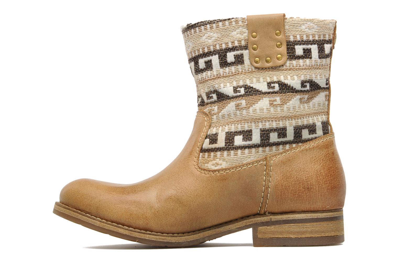 Boots en enkellaarsjes Koah Dalia Beige voorkant