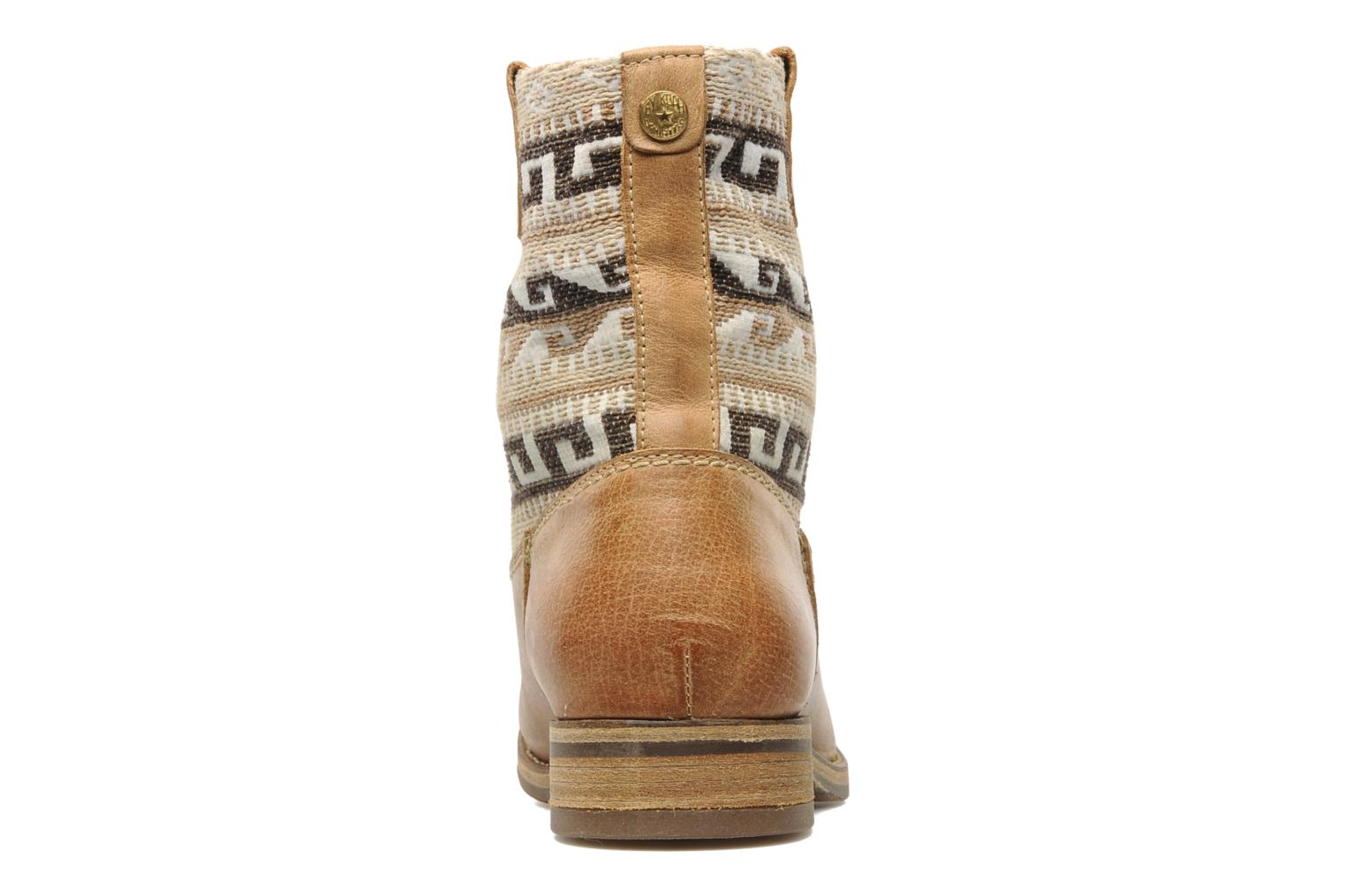 Ankle boots Koah Dalia Beige view from the right