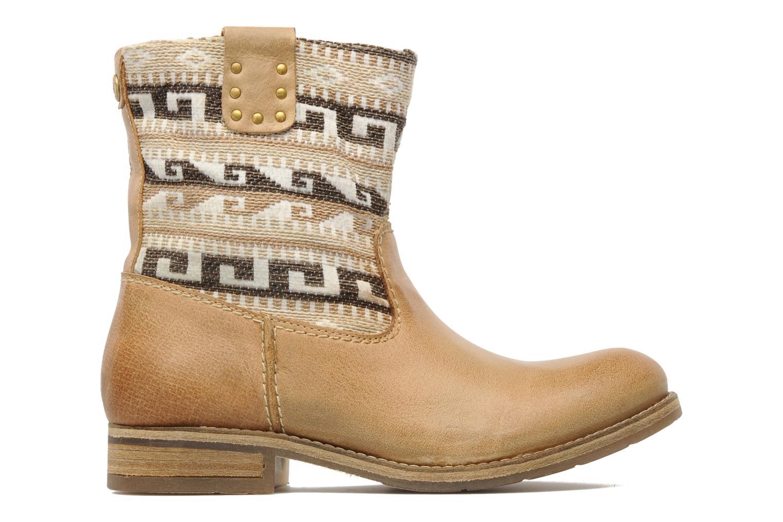 Boots en enkellaarsjes Koah Dalia Beige achterkant