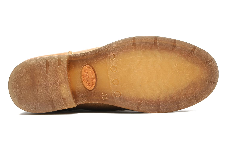 Bottines et boots Koah Dalia Beige vue haut
