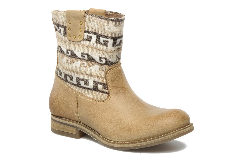 Boots en enkellaarsjes Koah Dalia Beige detail