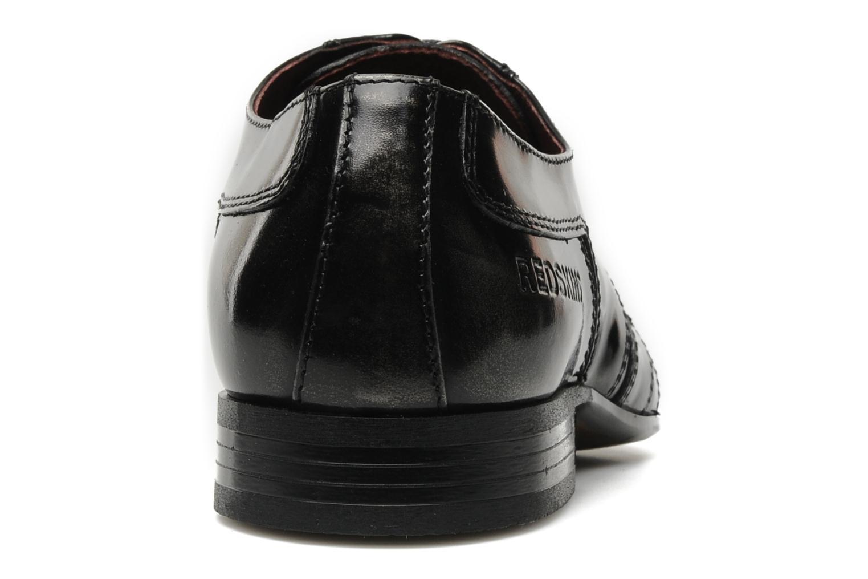 Scarpe con lacci Redskins Horus Nero immagine destra