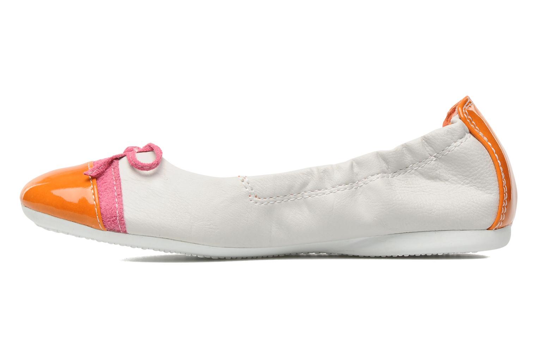 Ballerines I Love Shoes Jannie Blanc vue face