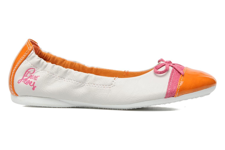 Ballerina's I Love Shoes Jannie Wit achterkant