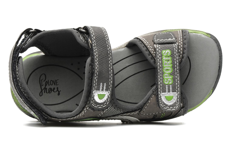 Sandalen I Love Shoes Janthony Grijs links