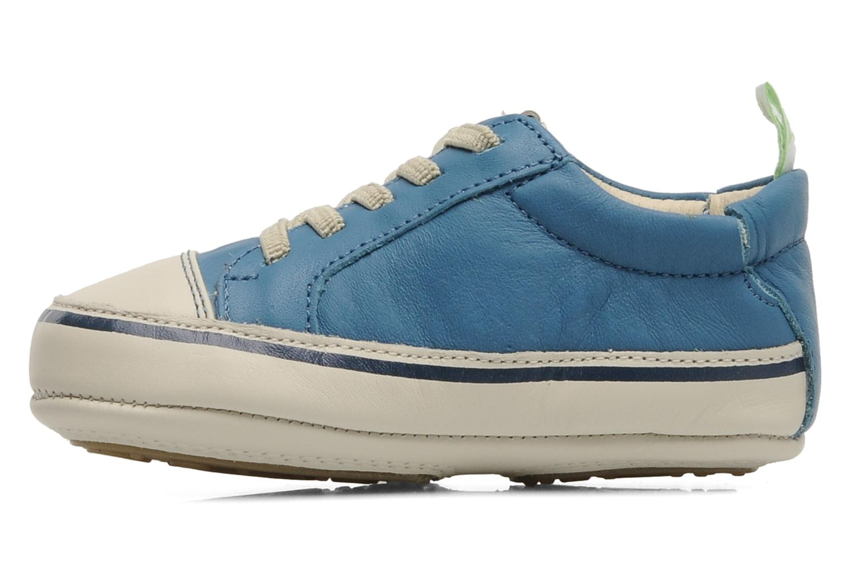 Sneaker Tip Toey Joey Funky blau ansicht von vorne