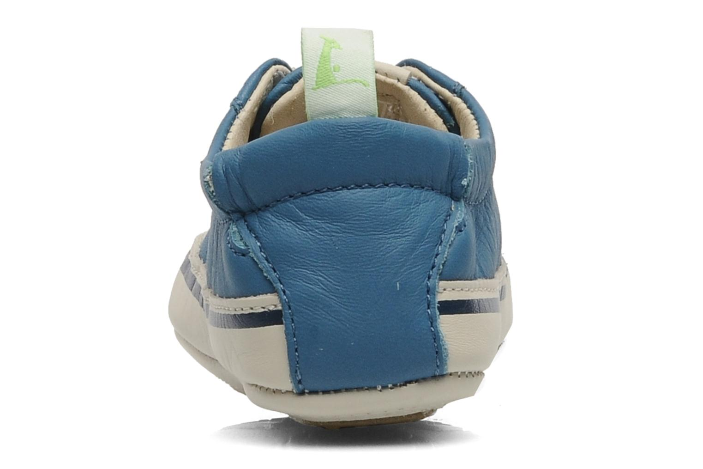 Sneaker Tip Toey Joey Funky blau ansicht von rechts