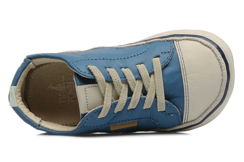 Sneaker Tip Toey Joey Funky blau ansicht von links