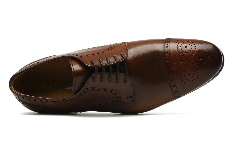 Chaussures à lacets Marvin&Co Parkland Marron vue gauche