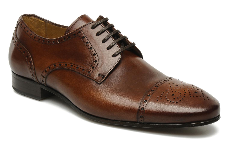Chaussures à lacets Marvin&Co Parkland Marron vue détail/paire