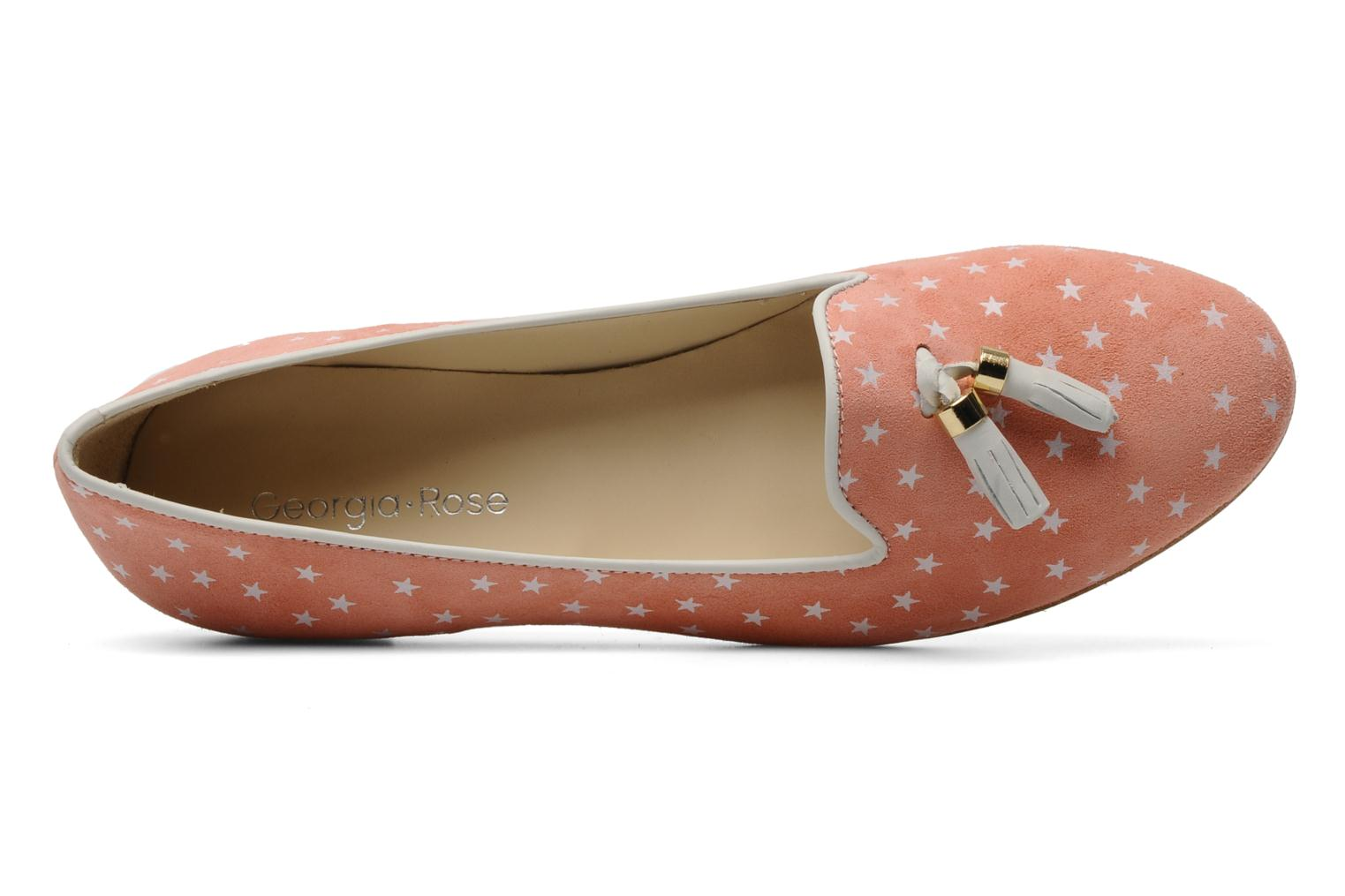 Loafers Georgia Rose Parikkala Pink view from the left