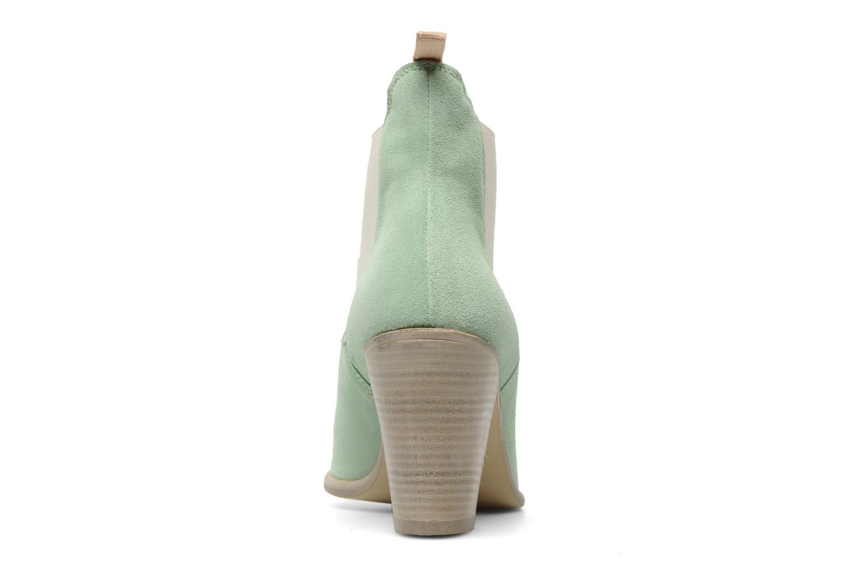 Bottines et boots Georgia Rose Parfino Vert vue droite