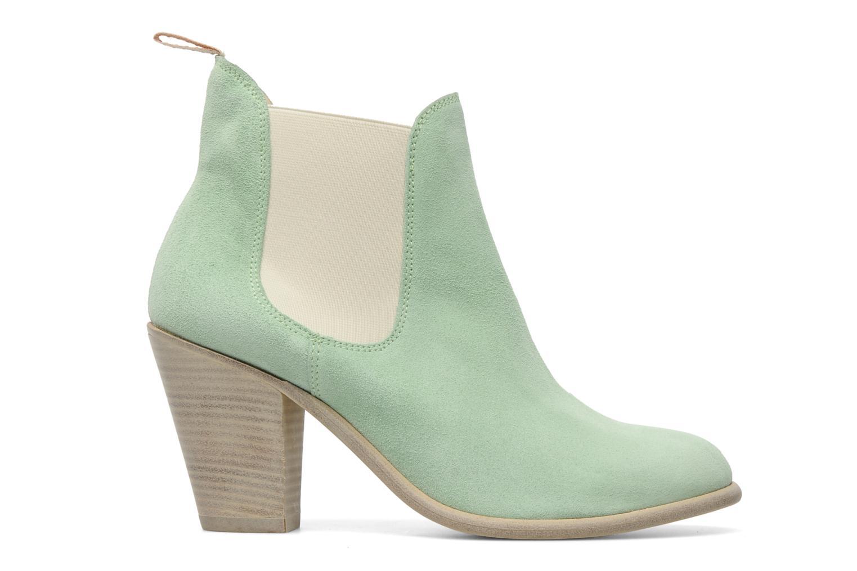 Bottines et boots Georgia Rose Parfino Vert vue derrière