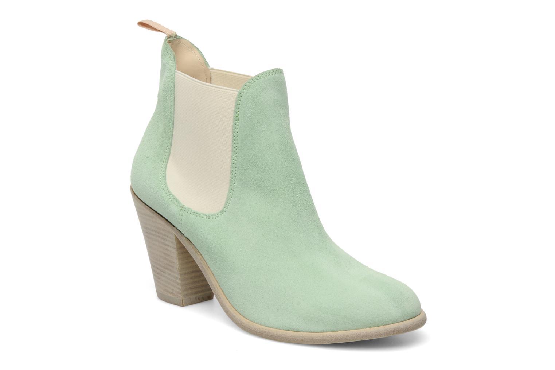 Bottines et boots Georgia Rose Parfino Vert vue détail/paire