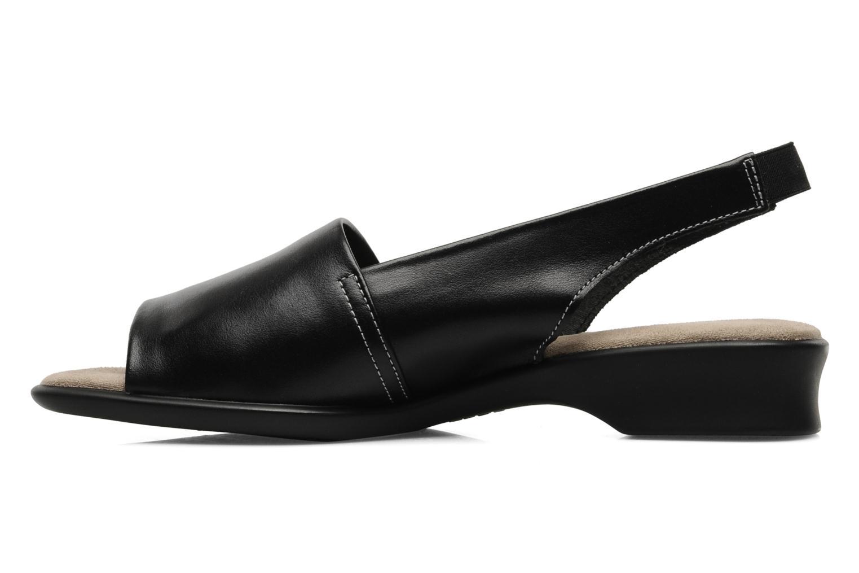 Sandales et nu-pieds Aerosoles Alrarve Noir vue face