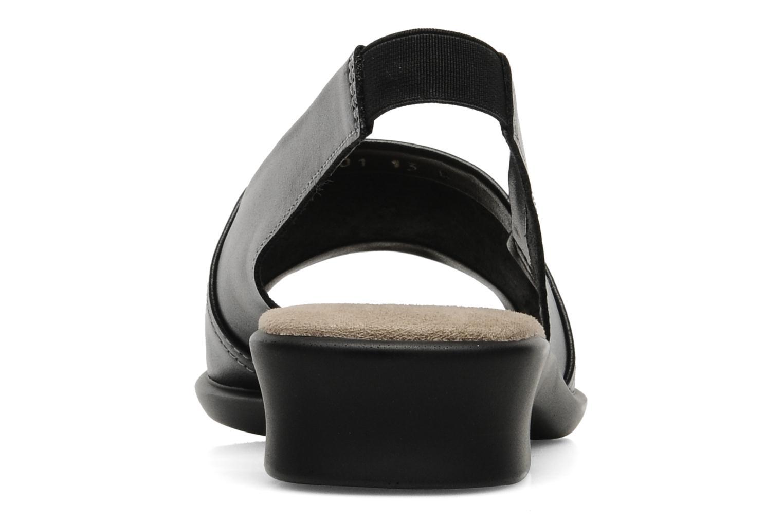 Sandales et nu-pieds Aerosoles Alrarve Noir vue droite