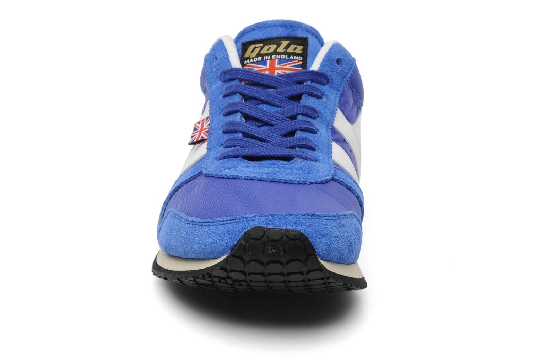 Baskets Gola FLYER Bleu vue portées chaussures