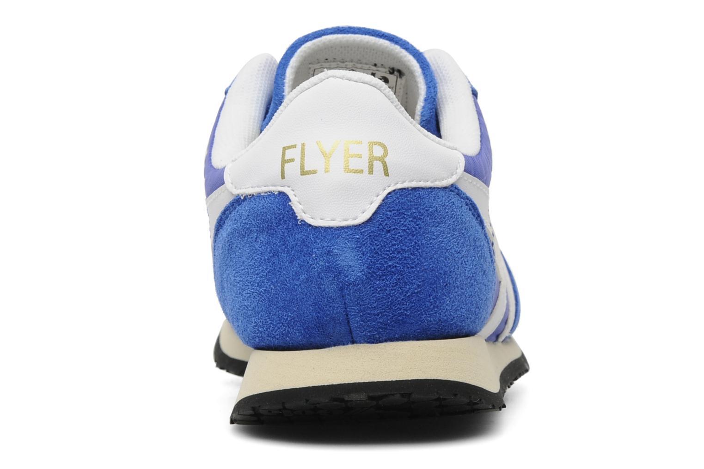 Baskets Gola FLYER Bleu vue droite