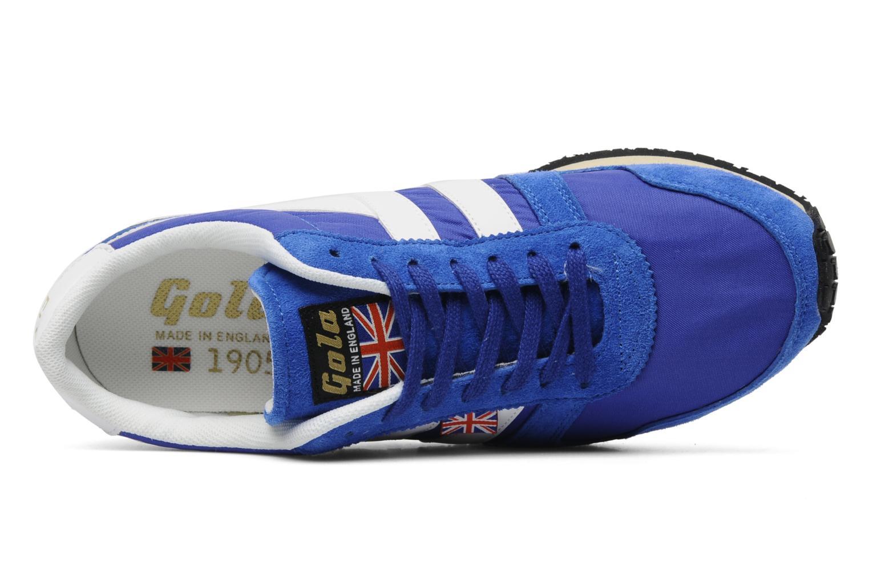 Baskets Gola FLYER Bleu vue gauche