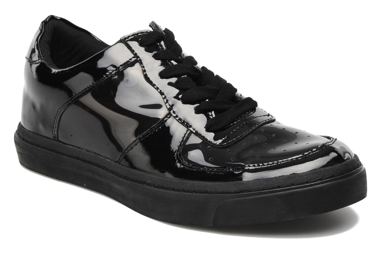 Sneakers Jeffrey Campbell Meyers Zwart detail