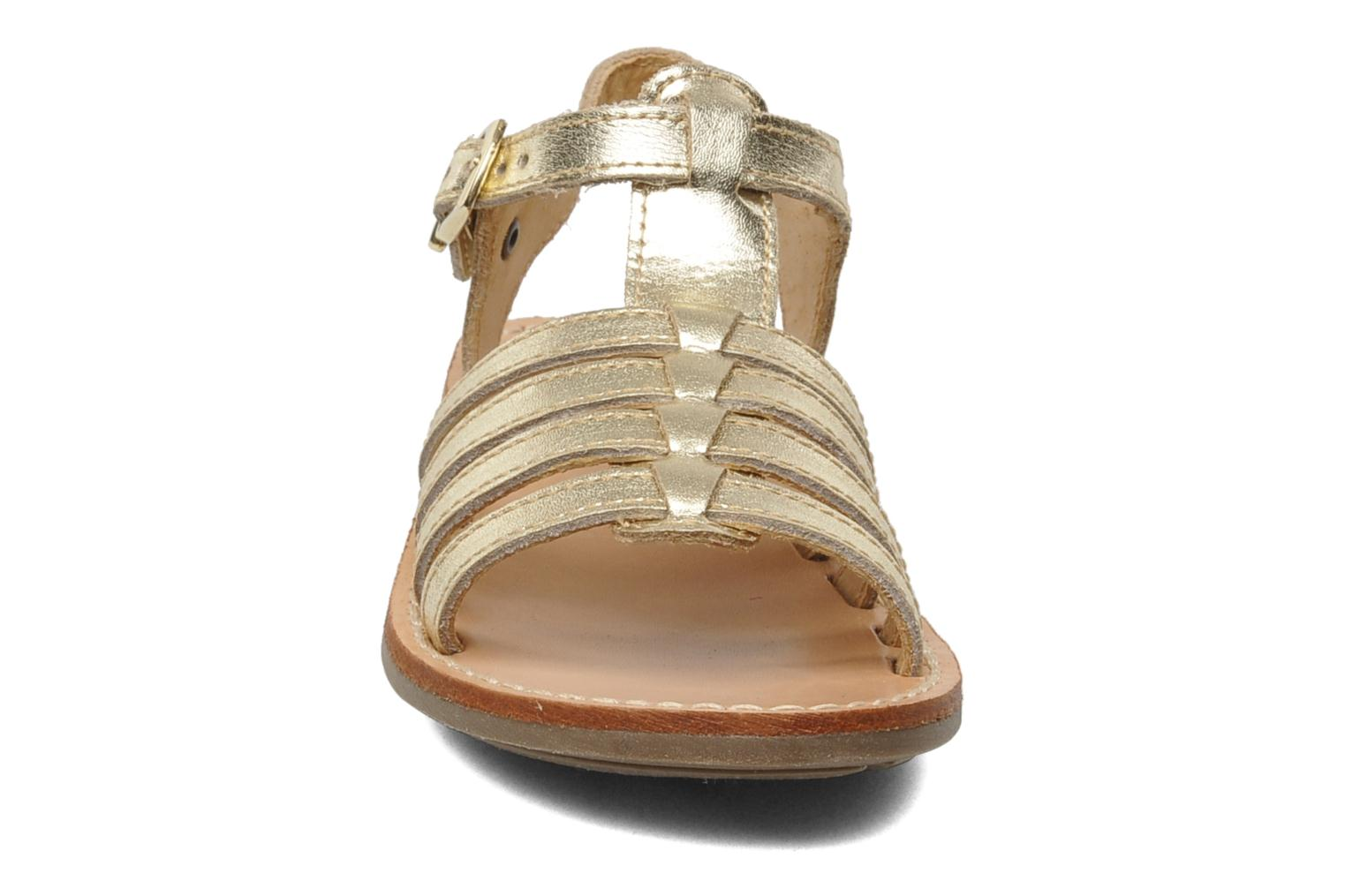 Sandalen Minibel Chana Goud en brons model