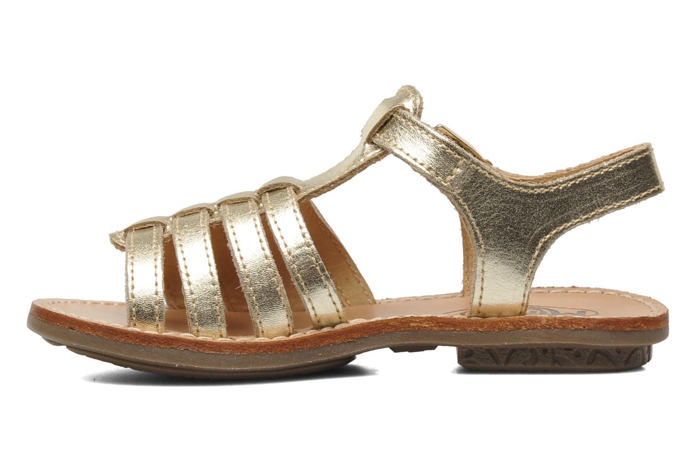 Sandalen Minibel Chana Goud en brons voorkant