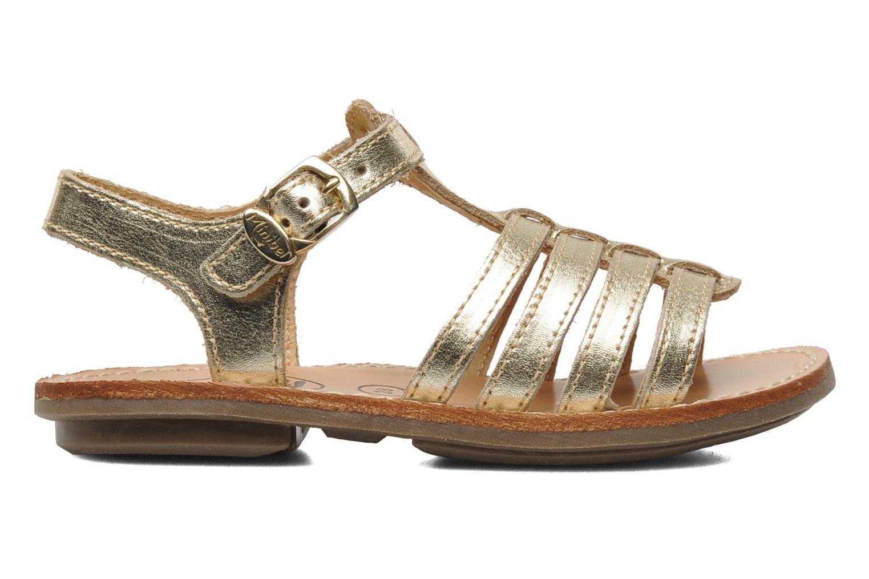 Sandalen Minibel Chana Goud en brons achterkant