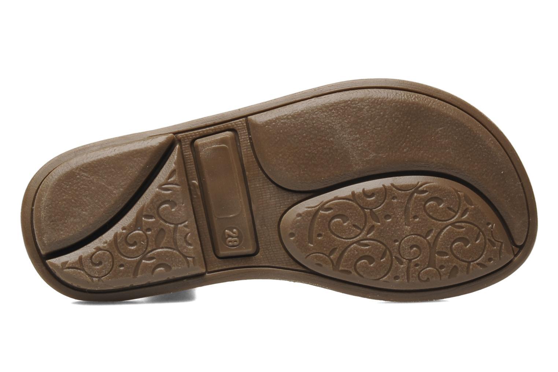 Sandales et nu-pieds Minibel Chana Or et bronze vue haut