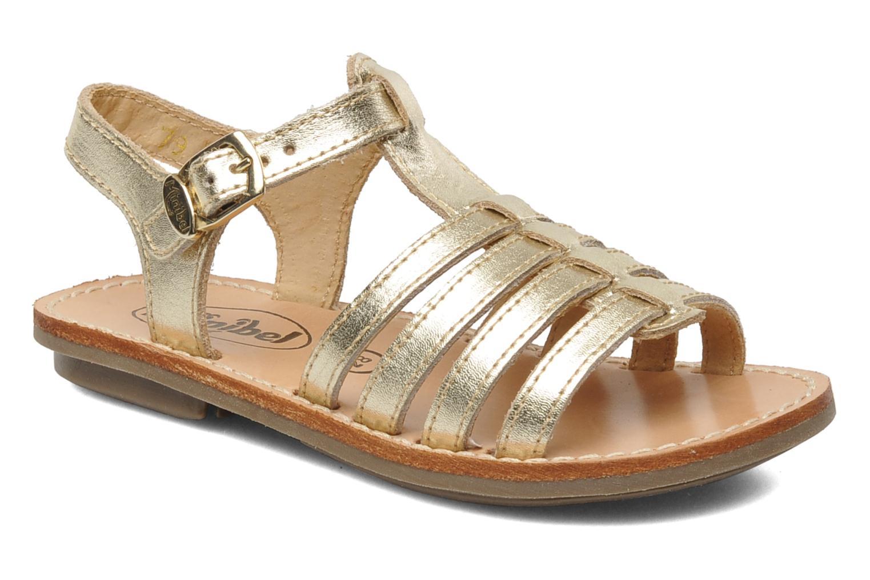 Sandalen Minibel Chana Goud en brons detail