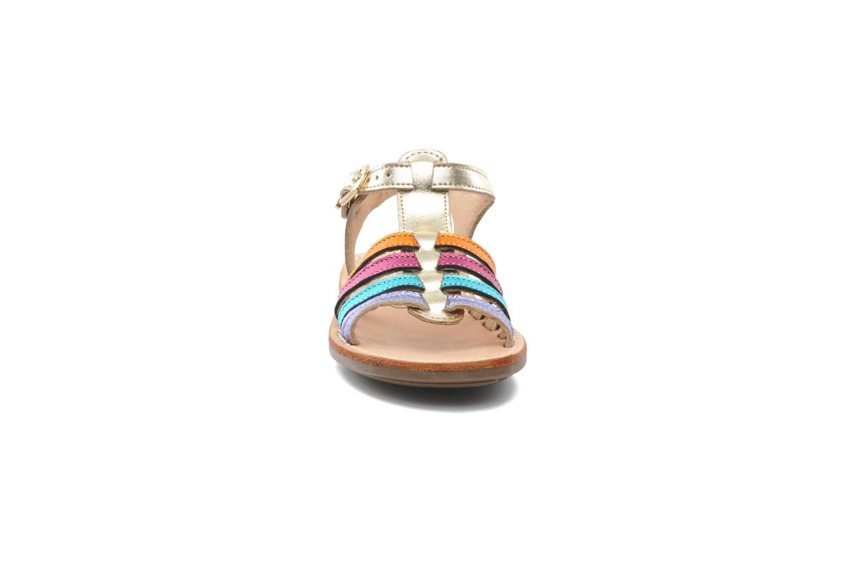 Sandales et nu-pieds Minibel Chana Multicolore vue portées chaussures