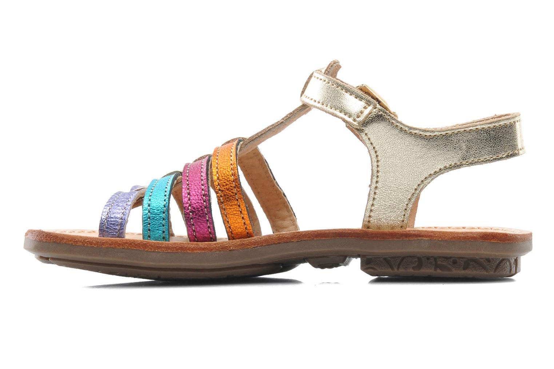 Sandales et nu-pieds Minibel Chana Multicolore vue face